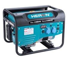 Elektrocentrála benzínová, 2,3kW, 5,5HP, 230V, HERON