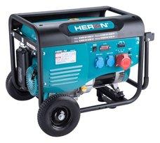 Elektrocentrála benzínová, 6,0kW, 13HP, 230 a 400V, HERON