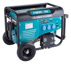 Elektrocentrála benzínová, 5,5kW, 13HP, 230V, EL. start, HERON