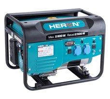 Elektrocentrála benzínová, 2,8kW, 6,4HP, 230V, HERON