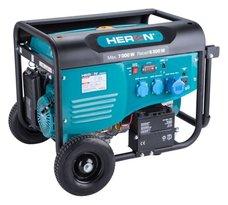 Elektrocentrála benzínová, 7,0kW, 15HP, 230V, EL. start, HERON