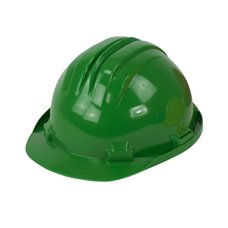 Ochranná pracovní přilba, zelená
