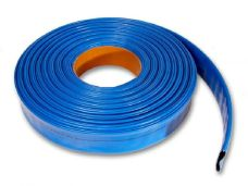 Hadice plochá pr. 25mm, modrá, 6005, VALMON