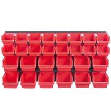 Závěsný panel ORDERLINE, 28 boxů, Prosperplast