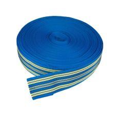 Popruh univerzální, PP, šířka 60mm, modrý, balení 50m