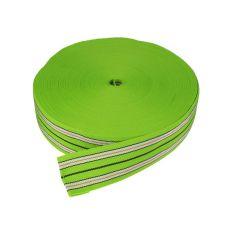 Popruh univerzální, PP, šířka 60mm, zelený, balení 50m