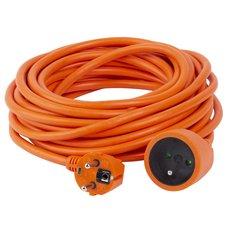 Prodlužovací kabel, délka 20m, 1 zás., 3x1,5mm, oranž., SOLIGHT