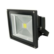 LED reflektor, COB, 30W, 2400lm, 230V, černý, SOLIGHT