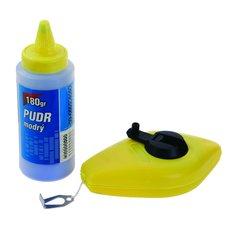 Navíječ s údernou šňůrou plastový, s pudrem