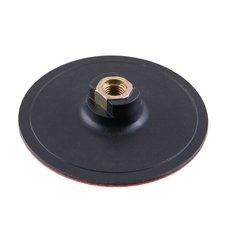 Kotouč gumový do brusky 125mm suchý zip