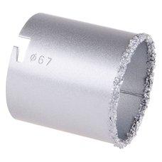 Vykružovací korunka diamantová, pr.  67mm, do unašeče, FESTA