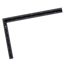 Úhelník černý, rozměr 600 x 400mm, ocel