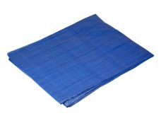 Plachta zakrývací PE s oky, rozměr  6 x 8m, modrá