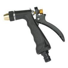 Pistole zavlažovací, tryska stavitelná, kovová, STREND PRO
