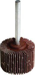 Brousící lamelový vějíř stopkový, 60 x 40mm, stopka 6mm, NK 80, LUKAS