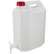 Kanystr na vodu s ventilem 10L, plastový