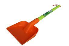 Dětské nářadí plastové - lopatka s násadou, 137mm
