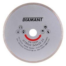 Diamantový kotouč plný 180mm, DIAMANT