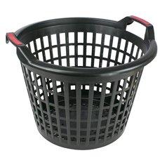 Koš plastový, pr. 500mm, černý