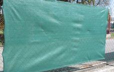 Stínící tkanina na plot HDPE, zastínění 90%, 150cm x 50m, 220g/m2