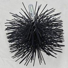 Komínový kartáč kulatý, polyamidová vlákna, průměr 150mm