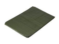 Plachta zakrývací PE s oky zelená 6 x 10m