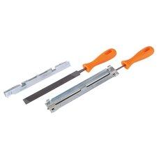 Pilníky na řetězovou pilu s přípravkem na broušení