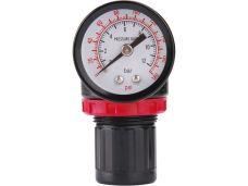 Pneumatický regulátor tlaku s manometrem, 8bar, EXTOL PREMIUM