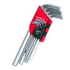 Klíče IMBUS, sada 9ks, 1,5 - 10mm, FESTA