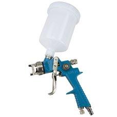Pneumatická stříkací pistole PROFI ( HVLP), tryska 1,4mm, horní plastová nádoba, MAGG