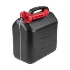 Kanystr na benzín plastový 10L, černý